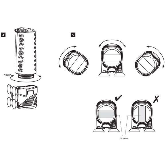 Aquael ASAP filter 500 (belsőszűrő) 50-150 literig