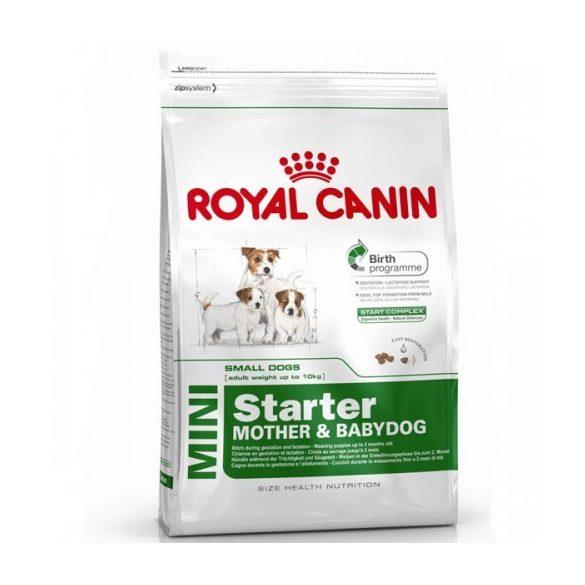 Royal Canin Mini Starter száraz eledel 2 hónaposnál fiatalabb kutyáknak és szoptatós mamakutyáknak 8 kg