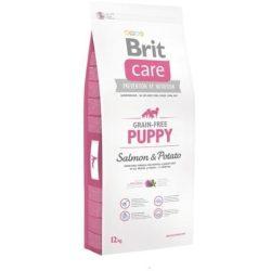 Brit Care Hipoallergén táp kölyökkutyák számára- lazacos, burgonyás 12 kg