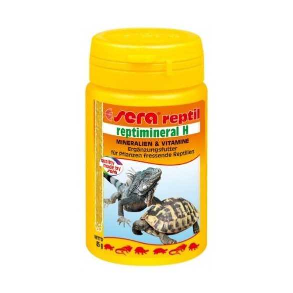 Sera Reptimineral H ásványianyag és multivitamin növényevő hüllők számára 100 ml