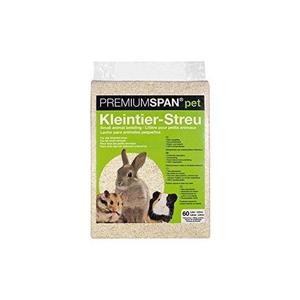 Premium Span préselt forgács natúr 60 L