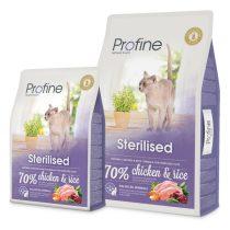 Profine Sterilised teljes értékű szárazeledel felnőtt, ivartalanított macskák számára 10kg