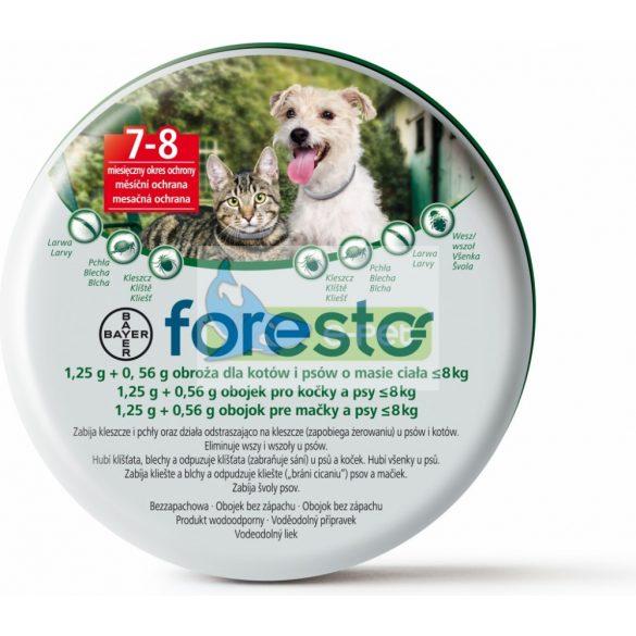 Foresto nyakörv macskáknak kullancs- és bolha ellen