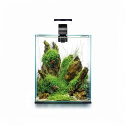 Aquael SHRIMP SET DAY&NIGHT 10 liter fekete
