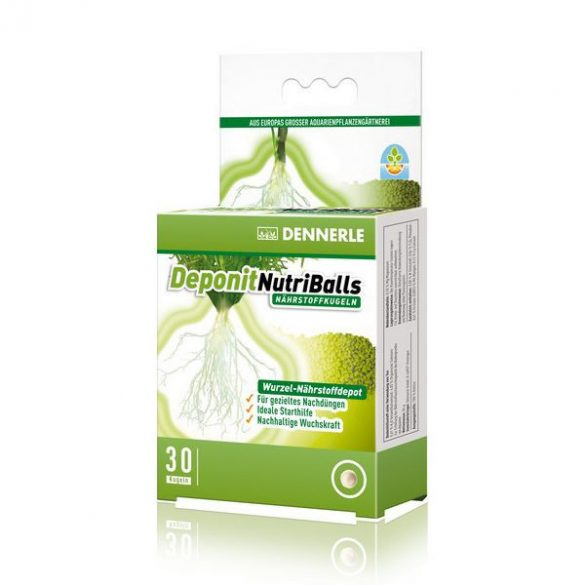Dennerle Deponit NutriBalls, talajtáp golyók - 30 db