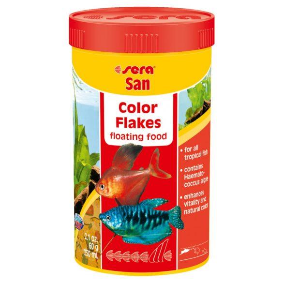 Sera San lemezes színező eledel 250ml