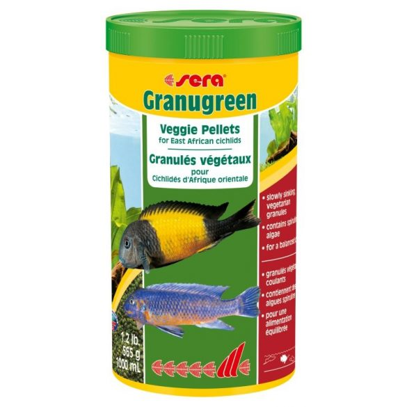 Sera Granugreen 250ml Sügér eledel