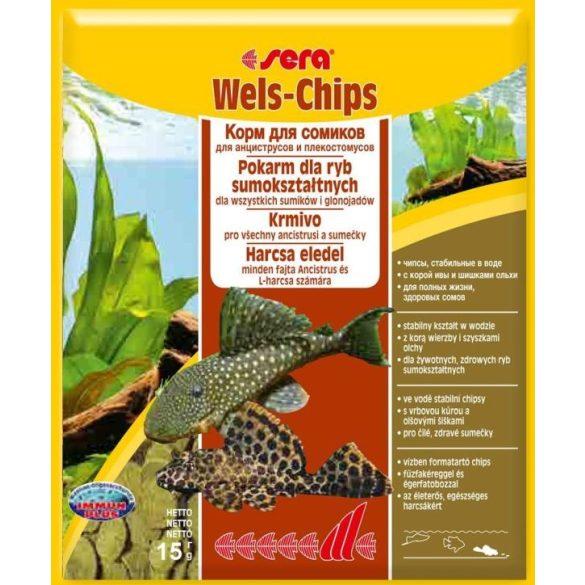 Sera Wels-Chips, Harcsa eledel 15g