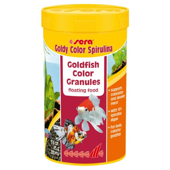 Sera Goldy Color Spirulina 250ml Színező eledel