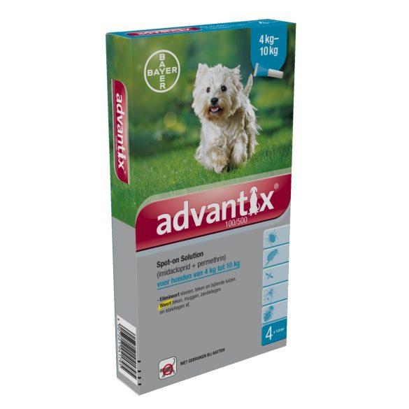 Advantix Spot On csepp 4-10 kg-os kutyáknak 1db ampulla
