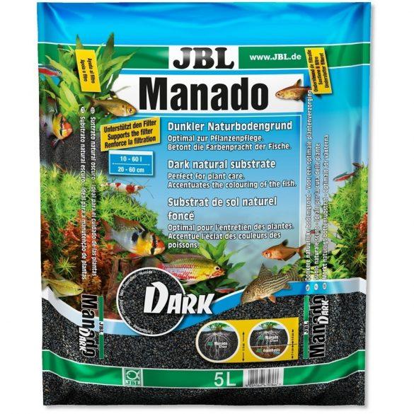 JBL Manado Dark fekete növénytalaj - 5 liter
