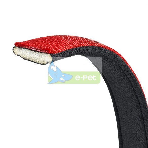 Daytona póráz rövid piros, párnázott