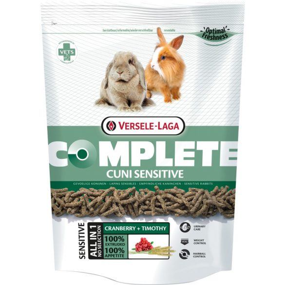 Versele-Laga Complete Cuni Sensitive nyuszitáp (érzékeny) 500g