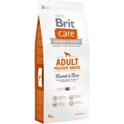 Brit Care Hipoallergén táp felnőtt kutyák számára- bárányos, rizses 12 kg