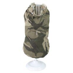 Croci Spa olasz kabát kifordítható - bézs- katonai mintás - Luke