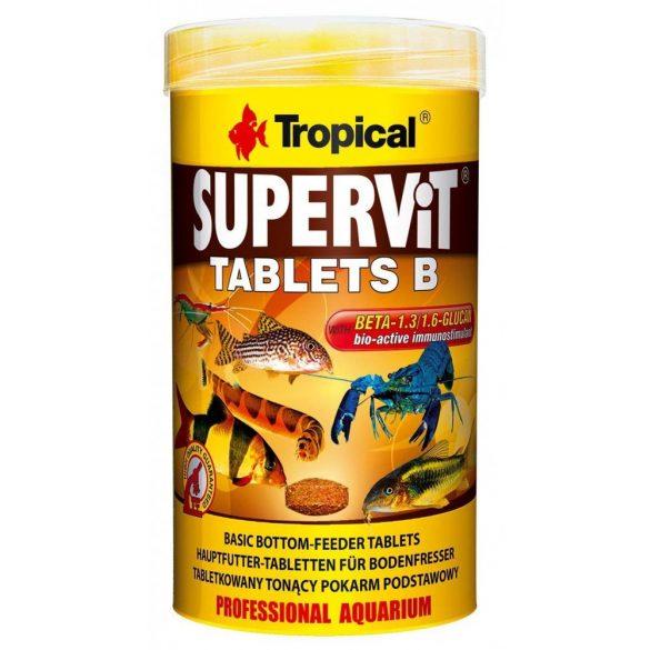 Tropical Supervit Tablets B 250ml akvárium falához tapasztható tabletta