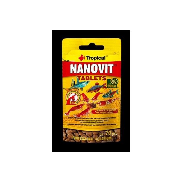 Tropical Nanovit Tablets 10g/70db