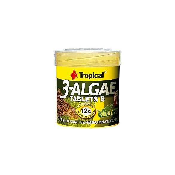 Tropical 3-Algal Tablets B/ algás táplálék 35g/50ml