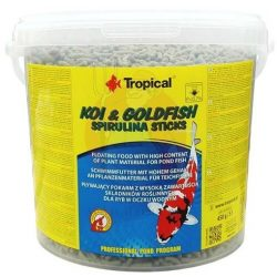 Tropical Koi - Goldfish spirulina sticks 11l