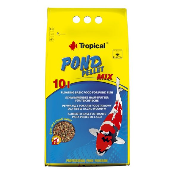 Tropical Pond pellet mix 10l
