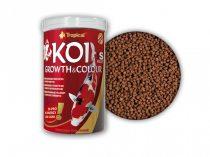Tropical KOI Growht -Colour S színnövelő táplálék 1000ml
