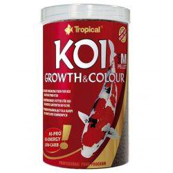 Tropical KOI Growht -Colour M színnövelő táplálék 1000ml