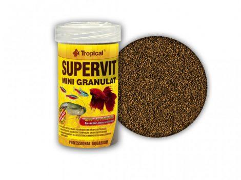 Tropical Supervit Mini granulat, granulátumos haltáp apró szemű 100 ml