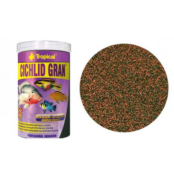Tropical Cichlid Gran granulátumos sügértáp 1000 ml