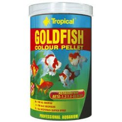 Tropical Goldfish Color pellet színező eledel 100ml