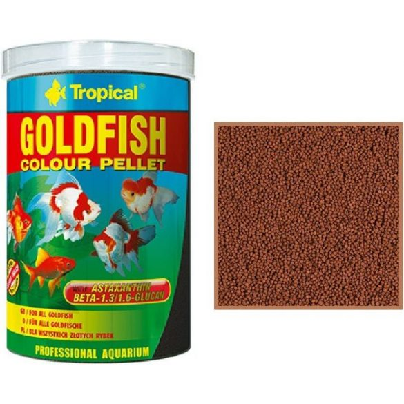 Tropical Goldfish Color pellet színező eledel 250ml