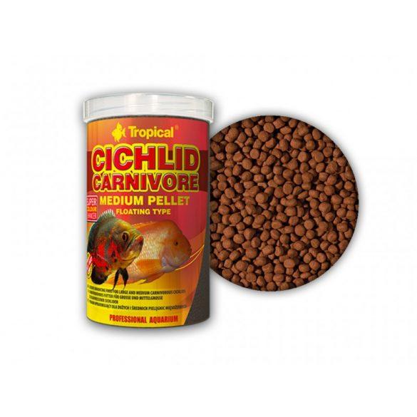 Tropical Cichlid Carnivore közepes méretű lebegő pellet sügereknek 500 ml