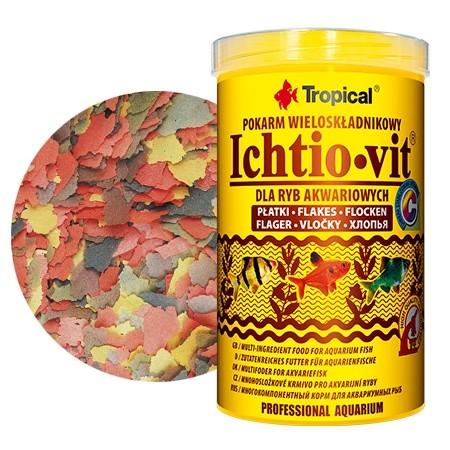 Tropical Ichtio Vit lemezes haltáp 250 ml