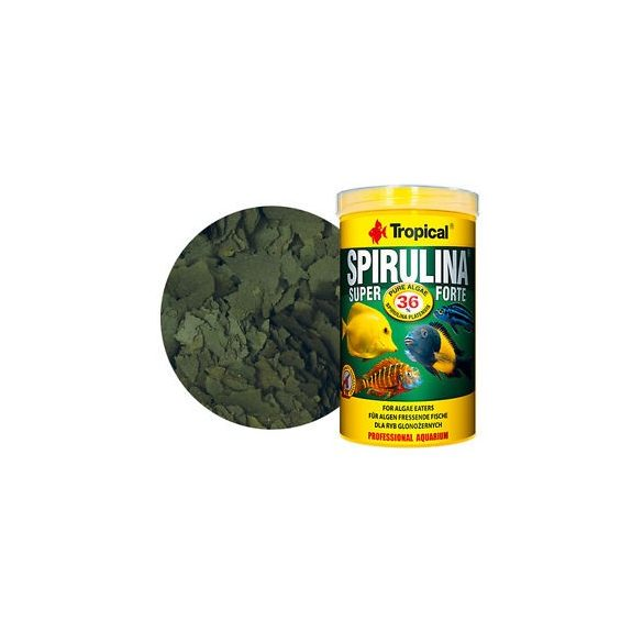 Tropical Spirulina Super Forte 36% tiszta alga, 250 ml