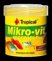 Tropical Mikro -Vit Vegetable 32g/50ml  eledel halnak