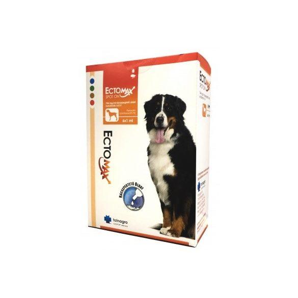 ECTOMAX SPOT ON 2-15 kg közötti testtömegü kutyák részére