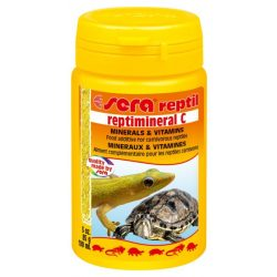 Sera Reptimineral C ásványianyag és multivitamin ragadozó hüllők számára 100 ml