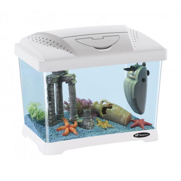 Ferplast Capri Junior akváriumszett fehér