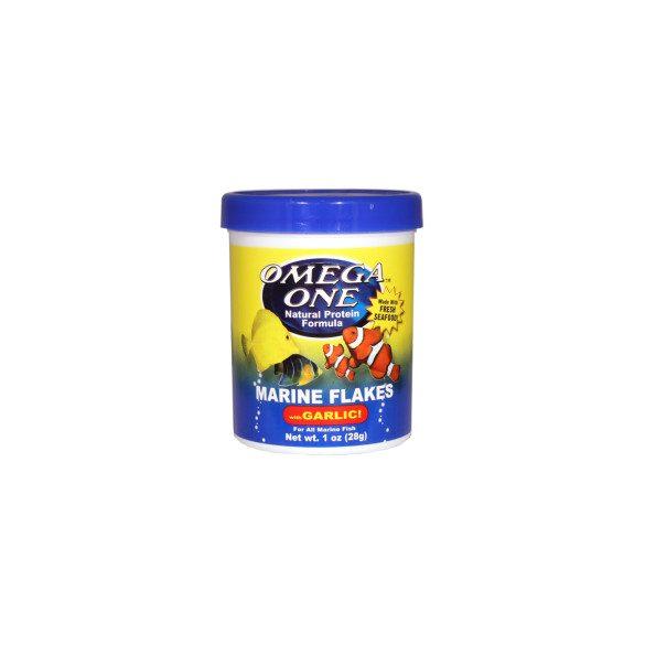 Omega One Garlic Marine Flakes /28 gramm/ lemezes haleledel