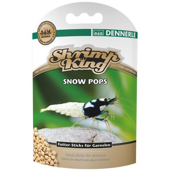 Dennerle garnélatáp - Shrimp King Snow Pops kiegészítő táp 40g