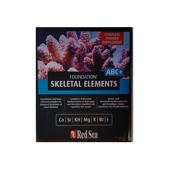 RED SEA Reef Foundation complete ABC+ 1 kg nyomelem