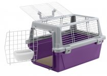Ferplast ATLAS VISION 10 lila szállítóbox