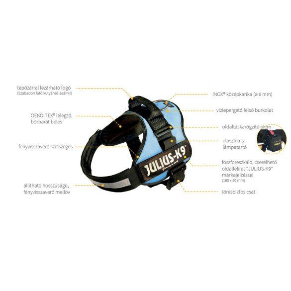 K9® Powerhám Mini-Mini világoskék