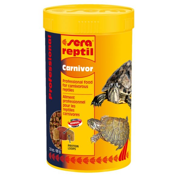 SERA REPTIL PROFESSIONAL CARNIVOR 330 g
