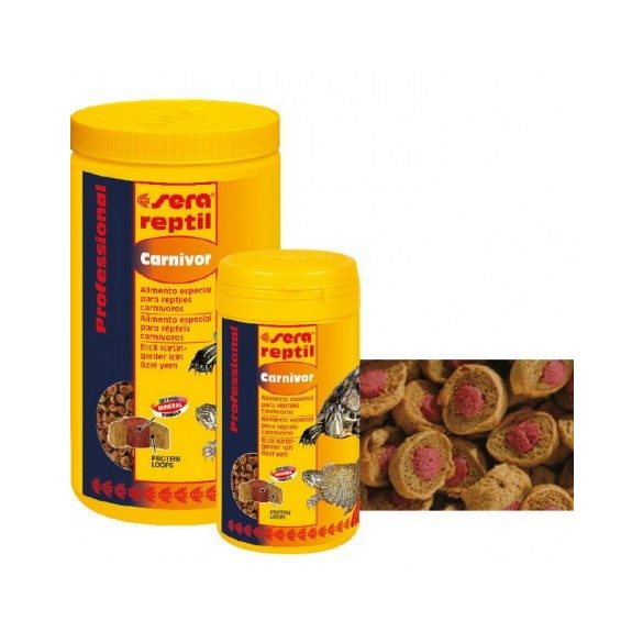 SERA REPTIL PROFESSIONAL CARNIVOR 310 g 1000 ml