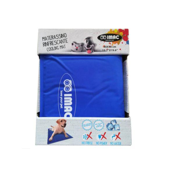 Imac hűtő matrac 40*50cm kék