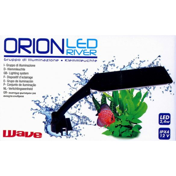 AMTRA ORION LED LÁMPA 10W FEKETE