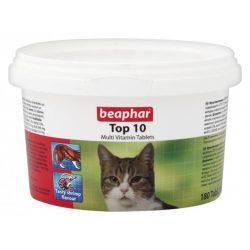 Beaphar Top 10 multivitamin tabletták macskáknak