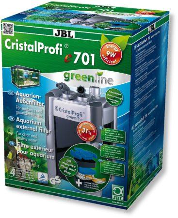 JBL CristalProfi E701 Greenline külső szűrő - töltettel