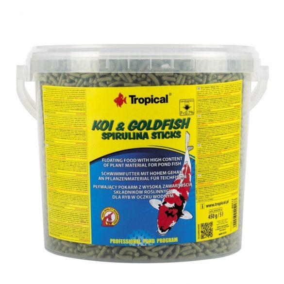 Tropical Koi&Goldfish Spirulina Stick 5L