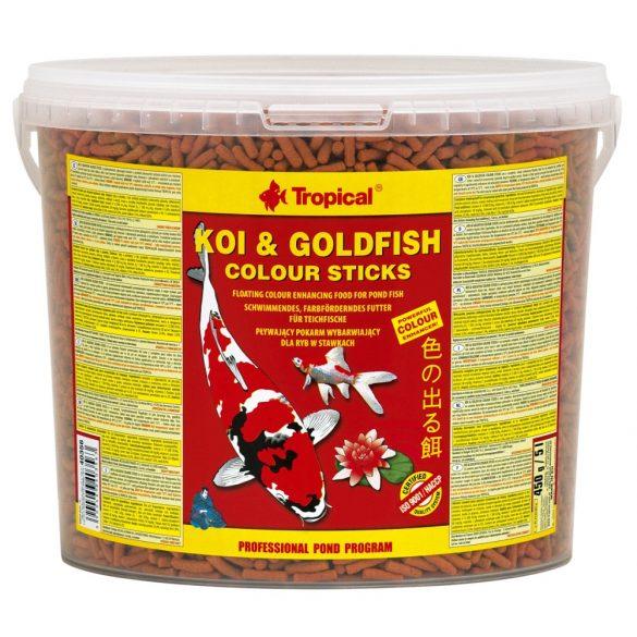 Tropical Koi&Goldfish Colour Sticks 5L